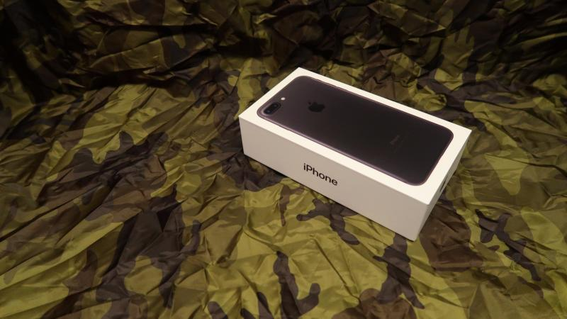 Unboxing/oppakking av iPhone 7 Plus